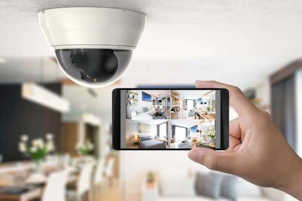 دوربین مدار بسته در خانه