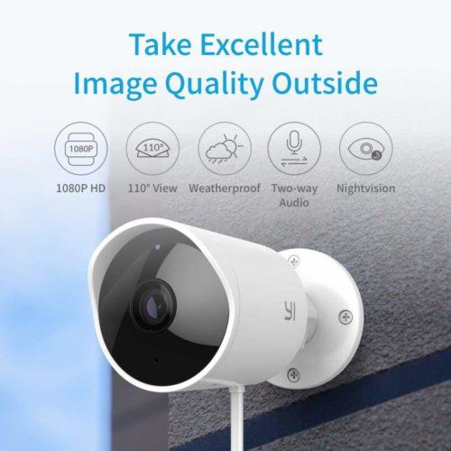 دوربین مدار بسته YI Outdoor Security Camera