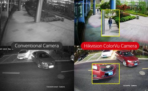 دوربین های مدار بسته ColorVu
