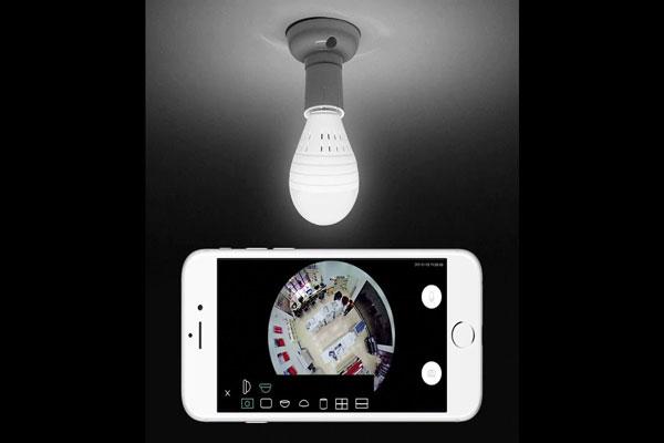 دوربین های مدار بسته لامپی