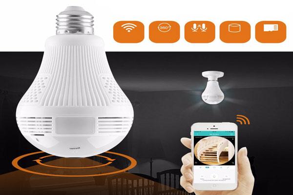 دوربین های مدار بسته جدید لامپی