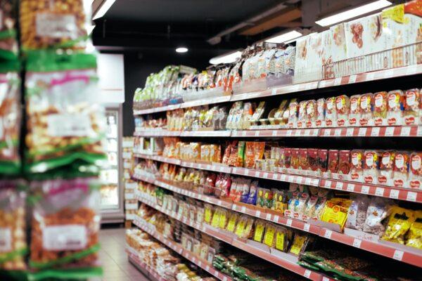 دوربین مدار بسته در سوپرمارکت