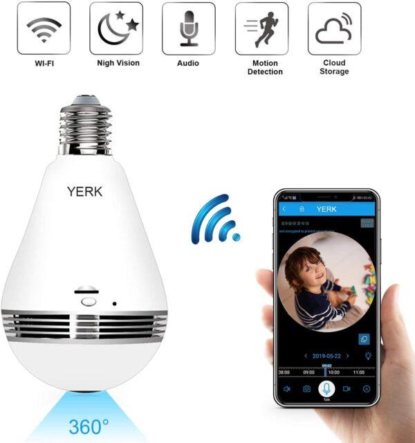 دوربین های لامپی برای اتاق کودک