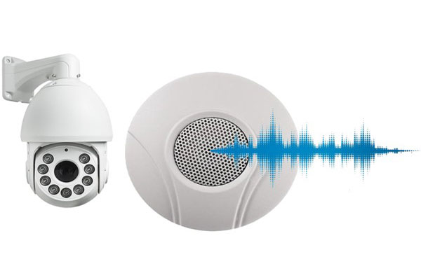 دوربین مدار بسته با ضبط صدا