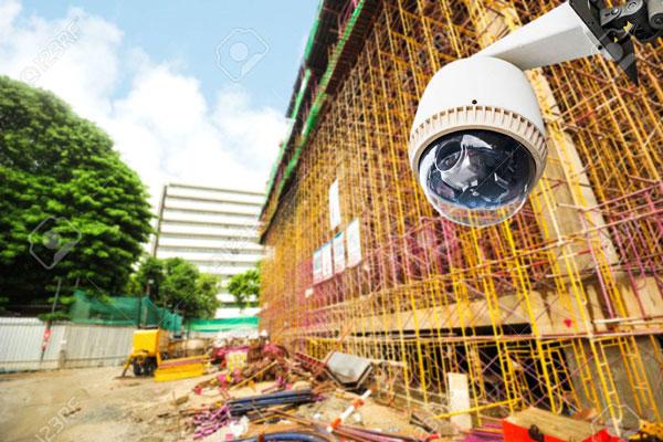 دوربین مدار بسته برای پروژه های ساختمانی
