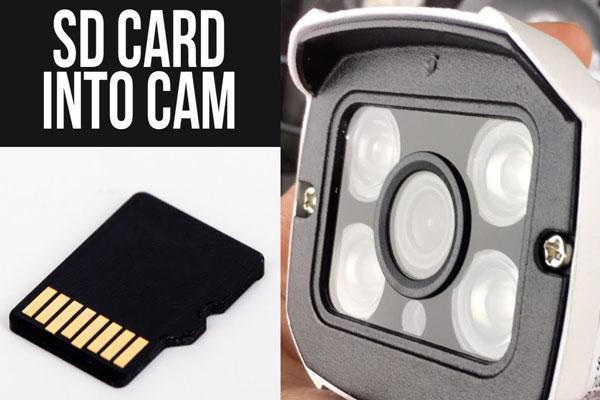 کارت حافظه برای دوربین مدار بسته
