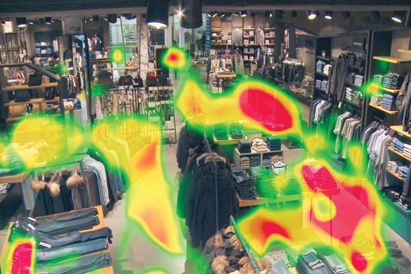 تکنولوژی نقشه گرمایی در دوربین مدار بسته