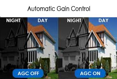 AGC در دوربین مدار بسته