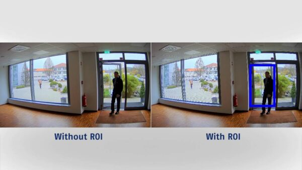 ROI در دوربین مدار بسته