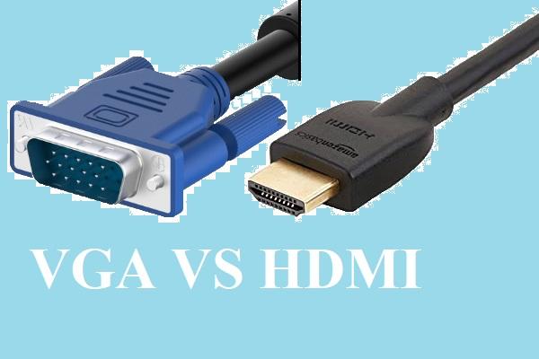 تفاوت کابل HDMI با کابل VGA